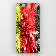 Germany Flag - Extrude iPhone & iPod Skin