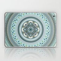 Blue Mandala Laptop & iPad Skin