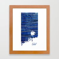The Lonely Sea Framed Art Print