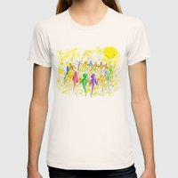One Breath Womens Fitted Tee Natural SMALL