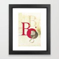 Perpetua B Framed Art Print