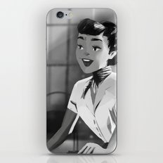 Anya Smith - Roman Holiday (Audrey Hepburn) iPhone & iPod Skin