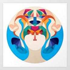 Mysterious Soul Art Print