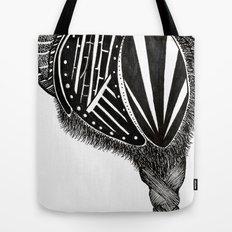 Hairy Heart Tote Bag