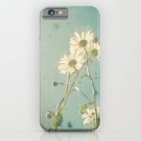 iPhone & iPod Case featuring The Daisy Family by Cassia Beck