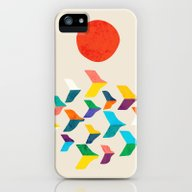 Great Bird Migration iPhone (5, 5s) Slim Case
