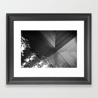 Water On Moma Framed Art Print