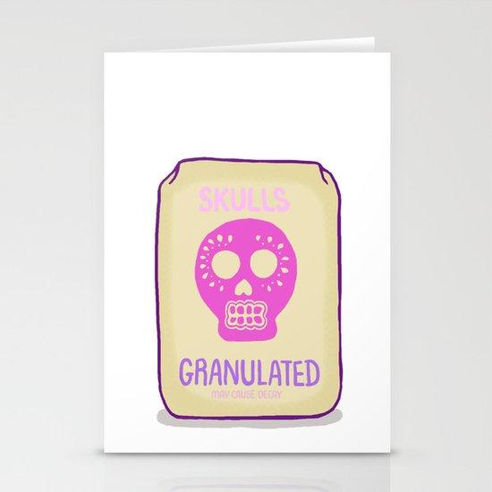Sugar Skulls Stationery Card