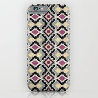 iPhone & iPod Case featuring BatPattern by basilique