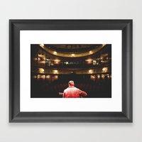 Södra Teatern Framed Art Print