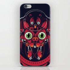 robo cat iPhone & iPod Skin