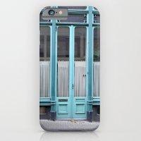 iPhone & iPod Case featuring Blue door by Marieken