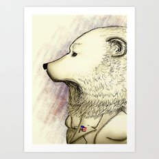 BEAR 2012 Art Print