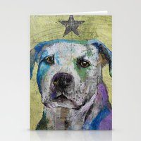 Pit Bull Terrier Stationery Cards