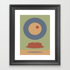 REMEMBER MOVEMBER Framed Art Print