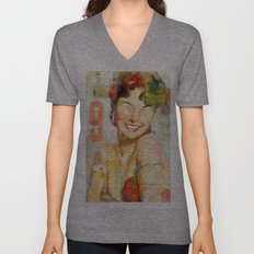 The girl of the 9th floor Unisex V-Neck
