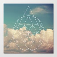 Geometry #1 Canvas Print
