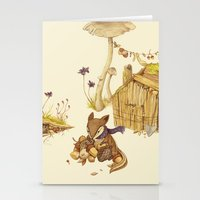 Harvey The Greedy Chipmu… Stationery Cards