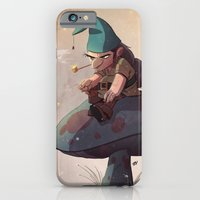 Gnome Away From Home iPhone 6 Slim Case