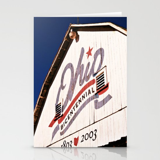 OHIO COLOR  Stationery Card