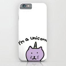 Cat unicorn iPhone 6 Slim Case