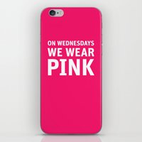 Mean Girls #11 – Pink Wednesday iPhone & iPod Skin