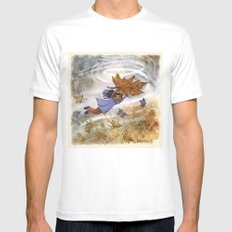 Flying Mens Fitted Tee SMALL White