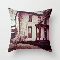 A Squatter's Paradise Throw Pillow