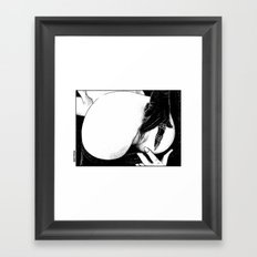 asc 582 - Le gant de velours (The velvet glove) Framed Art Print