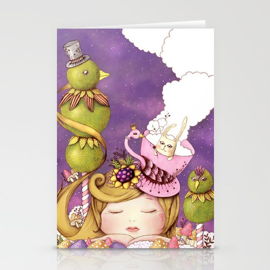 Neverland Stationery Card