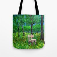Sit with me  Tote Bag