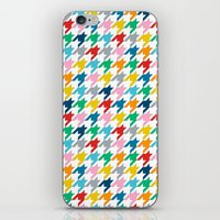 Puppytooth iPhone & iPod Skin