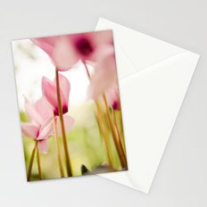 Cyclamen Forest Stationery Cards