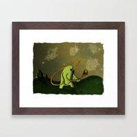 Decorando El Espacio Framed Art Print