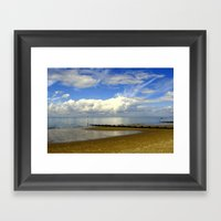 Heacham Beach, North Nor… Framed Art Print