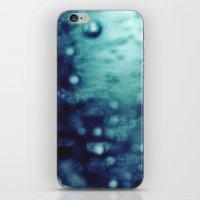 Bubbles Macro iPhone & iPod Skin