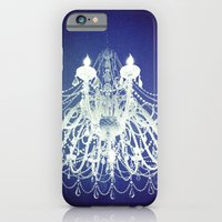 Chandelier | Black and White Photography | Romantic, Sparkly, Dreamy Light iPhone 6 Slim Case