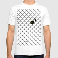 I Creep On You II Mens Fitted Tee White SMALL