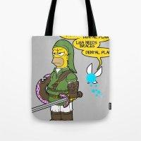 The Simpsons: Legend of Zel... er- D'OH! Tote Bag