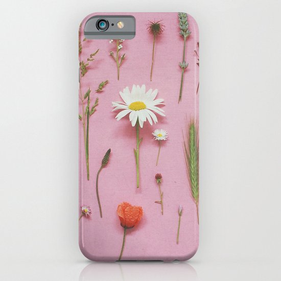 Wild Flowers iPhone & iPod Case