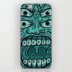 KEEP IT KREEPY iPhone & iPod Skin