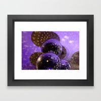 Disco Ball Framed Art Print