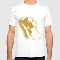 Sexy Mens Fitted Tee White SMALL