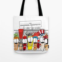 The Unusual Suspects Tote Bag