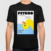 Psycho Mens Fitted Tee Tri-Black SMALL