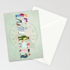 Planet Express Stationery Cards