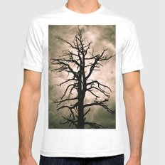 The Coming Storm SMALL White Mens Fitted Tee
