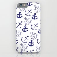 iPhone & iPod Case featuring Anchors by Sarah Liddell