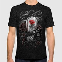 The Last Flower On Earth Mens Fitted Tee Tri-Black SMALL