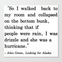 She Was A Hurricane Canvas Print